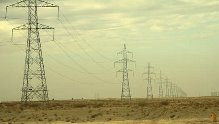 Power transmission line in Balkh province. Photo: Jelena Bjelica (2011).