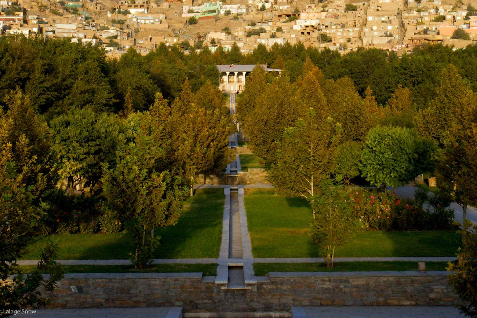 A view of Bagh-e-Babur in Kabul…The Emperor Babur built his finest ...