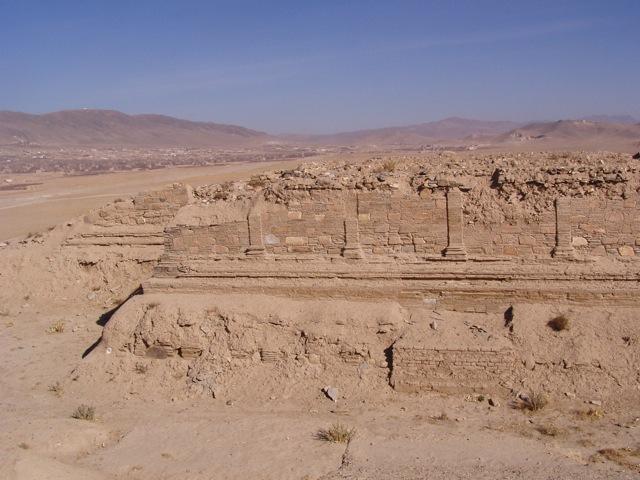 Not much left: The Buddhist stupa at Tapa-ye Sardar in Ghazni, 2005. Photo: Thomas Ruttig.
