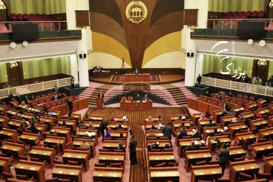 Anything but a full house - many seats in the Wolesi Jirga plenary hall were often not even occupied by half of the MPs - meaning that no quorum was reached to vote on legislation. (Photo Source: Pajhwok 2016)